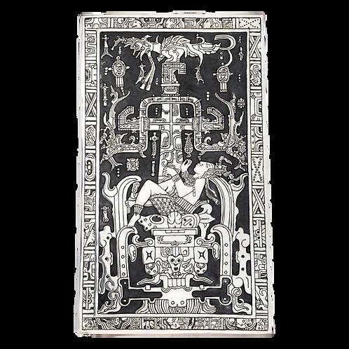 الملك باكال التابوت العظيم يسقط إلى Xibalba