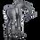 Thumbnail: مجسمه زرافه سیاه سر به زیر مادر
