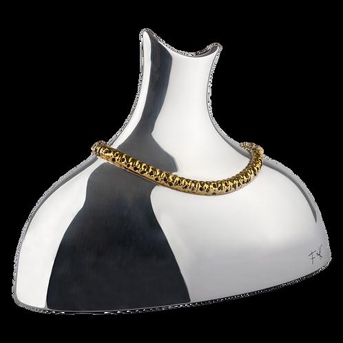 Frida Kahlo's Gold Jewelry Flower Vase