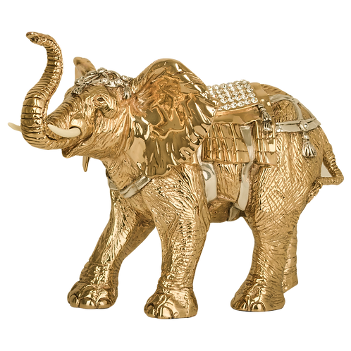 Indian Golden Elephant Statue