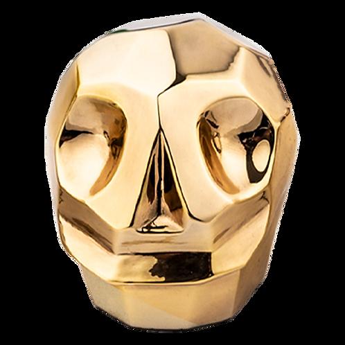 Gold Skull Figure