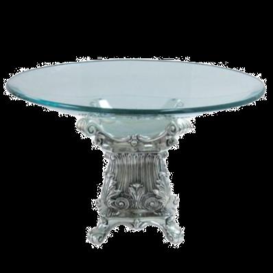 Silver Fruit Bowl Table Centrepiece