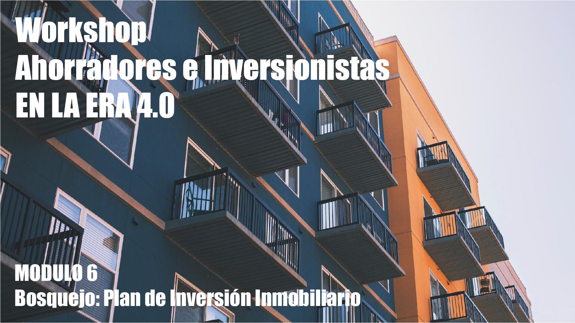 Workshop Ahorradores Inversionistas M6