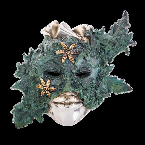 Calla Lilies Mask Sculpture