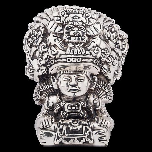 Silver Man Statue - Zapotecan