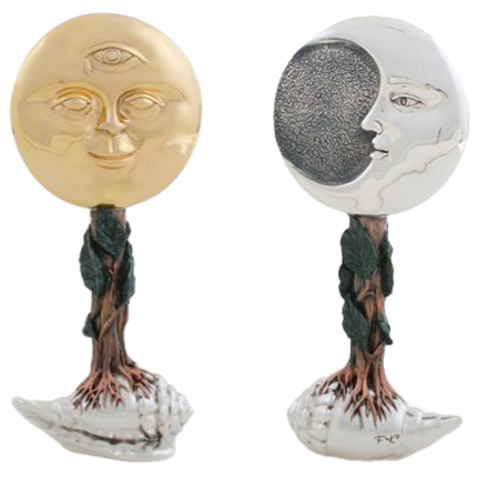 The Sun and The Moon Sculpture