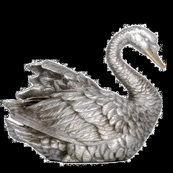 تمثال البجعة الفضية
