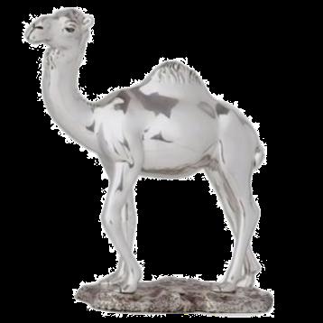 مجسمه شتر نقره ای