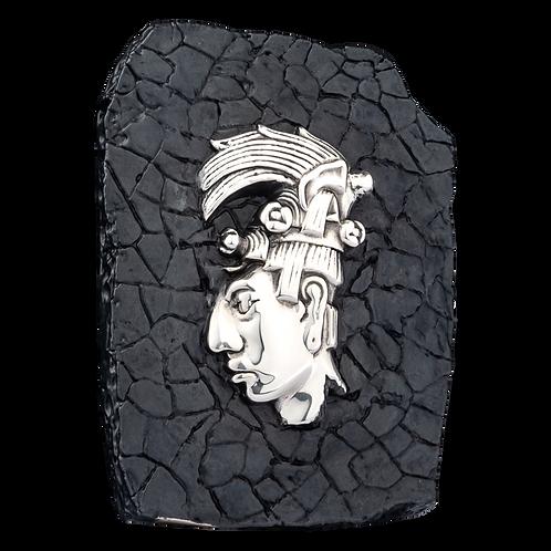Silver Palenque Relief