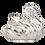 Silver Swan Statue