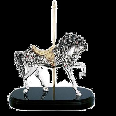 Carrousel Spanish Walk Horse Statue