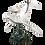 Thumbnail: مجسمه نهنگ نقره ای