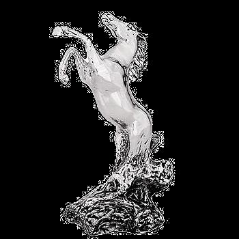 مجسمه اسب وحشی