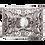 Thumbnail: جرة كبيرة مربعة من الفضة الحرق
