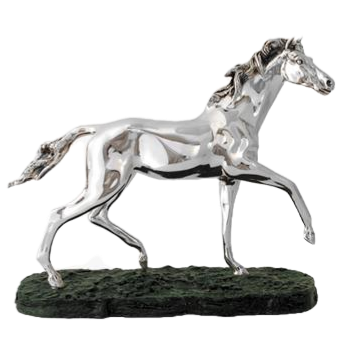 Slow Running Horse Statue