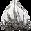 Thumbnail: زهرية زهرة على شكل مثلث منحني رفيع