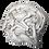 Silver Whirlwind Women Sculpture