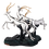 Thumbnail: مجسمه نقره ای غزال