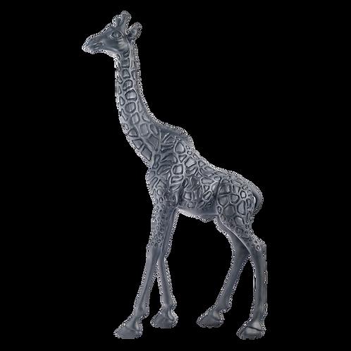 Black Giraffe Statue Standing Father