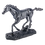 Thumbnail: مجسمه اسب نقره ای در حال اجرا