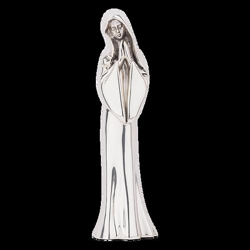 Silver Madonna Statue