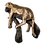 Thumbnail: Gold Leopard Statue Calm on Branch