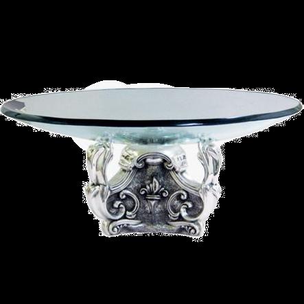 Silver Fruit Bowl Low Centrepiece