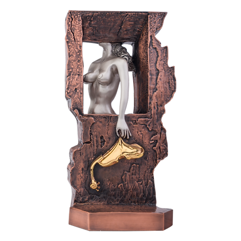 Masochistic Instrument Sculpture from Salvador Dali paintings