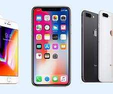 iphones and samsung phones
