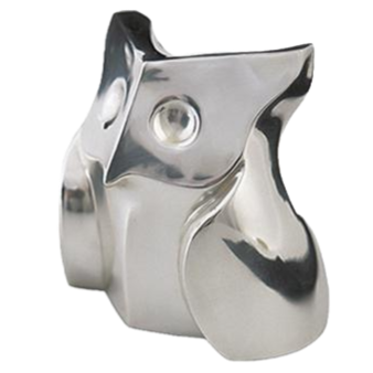 Silver Owl Statue - Saggio