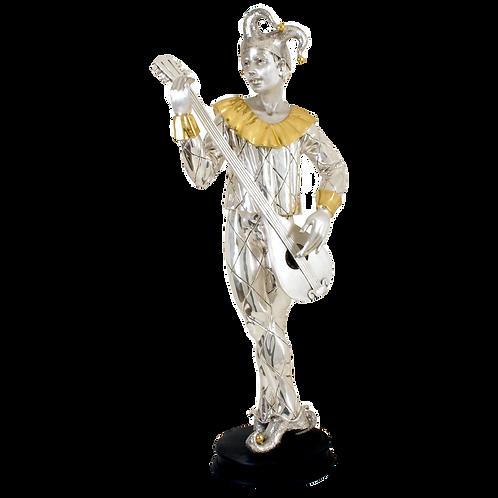 تمثال الفضة المهرج