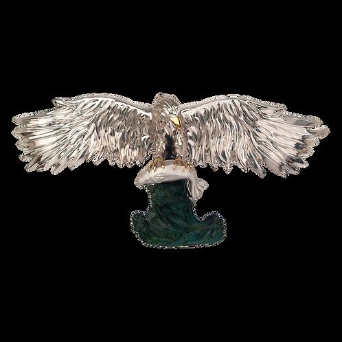 مجسمه عقاب طاس ماهیگیری
