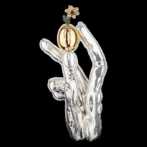 تحول شكل النرجس - سلفادور دالي