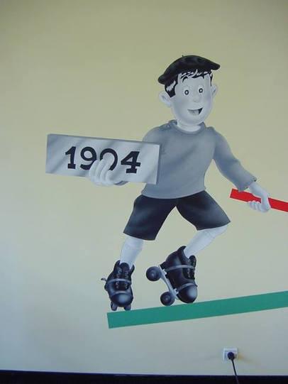 Fresque à la maison de l'orphelinat