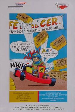 Fête du CER 2001