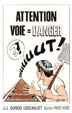 Voie = danger