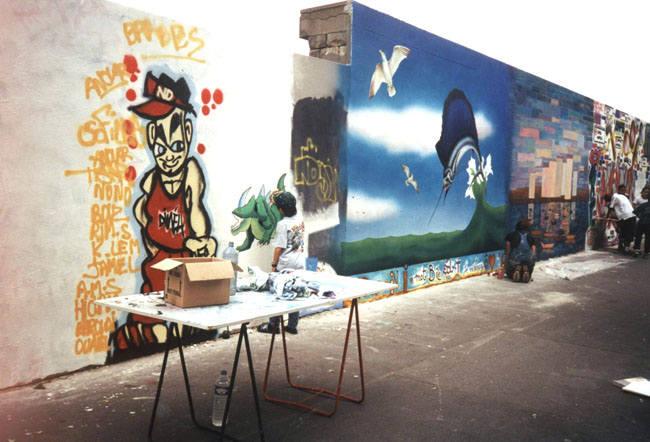Peinture murale Paris