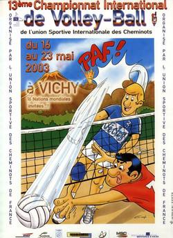 CER Affiche volley 2003