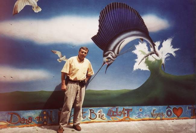 Fresque murale à Paris