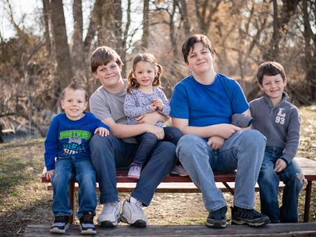 Olsen Family Photo Session: Provo River Trail in Provo, UT