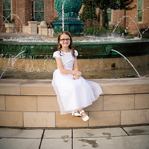 Moriah Allen-Baptism