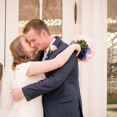 Krista and Joseph-First Look/Bridals