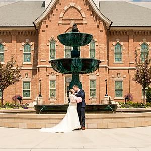Krista and Joseph-Wedding Day!