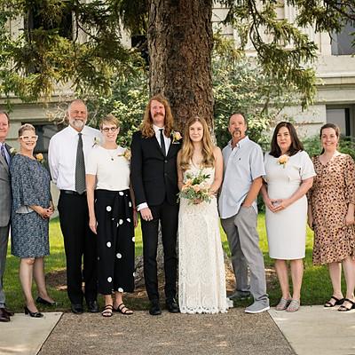 Berkley and Adam Wedding