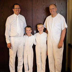Logan and Connor's Baptism