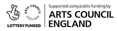 Arts Council England National Lottery logo
