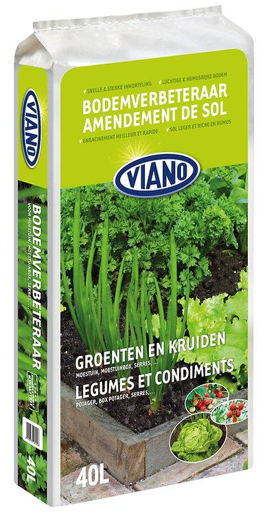 Viano Bodemverbeteraar voor groenten & kruiden