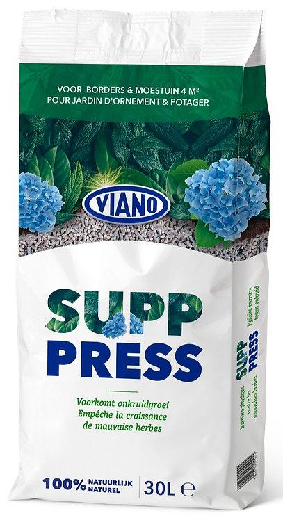 Viano - SUPP PRESS - onkruidgroei