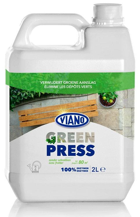 Viano GREEN PRESS Verwijdert groene (algen) aanslag