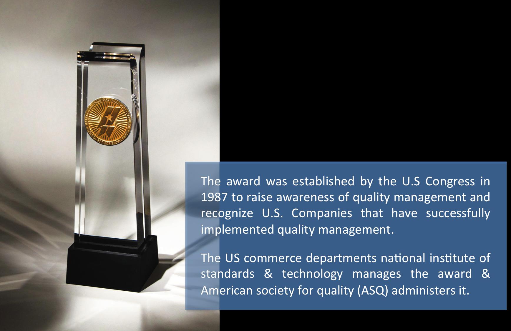 Malcolm Baldrige Quality Award